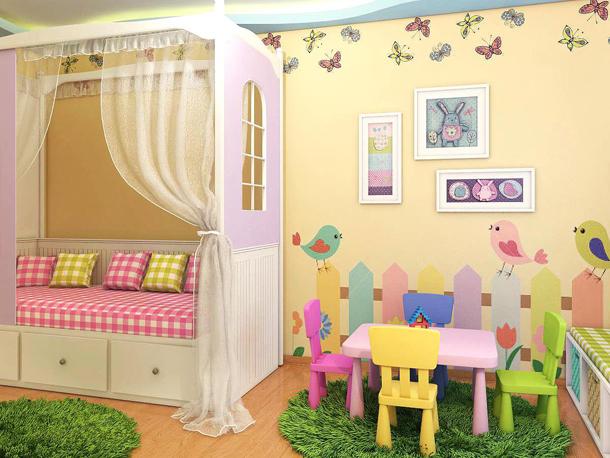 С чего начинать работу над дизайном детской комнаты
