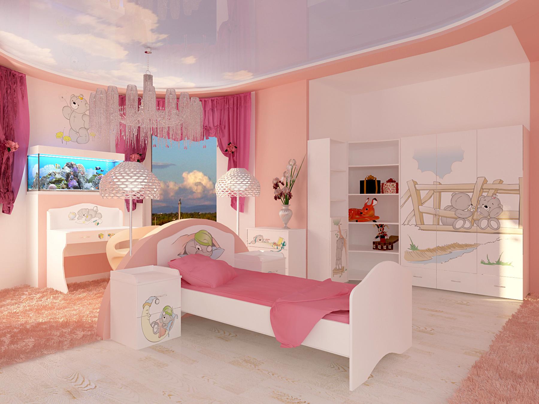 Дизайн детской комнаты своими руками начинаем с теории