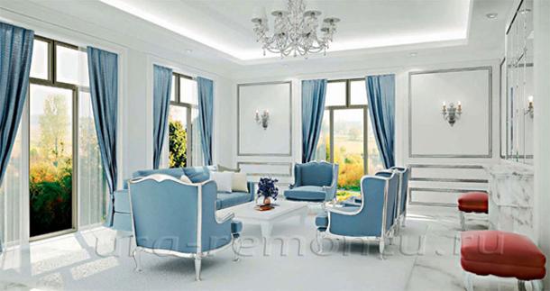 Подбираем цвета для интерьера уютной гостиной
