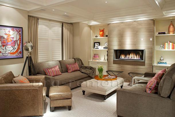 В каких цветах оформить интерьер уютной гостиной