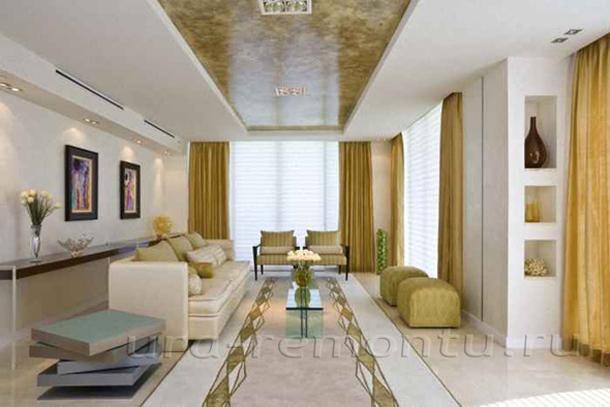 Мягкая мебель как основа интерьера уютной гостиной