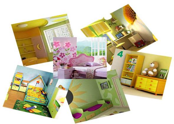 Теория дизайна детской комнаты своими руками