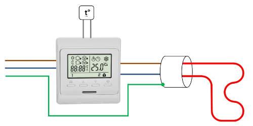 Подключение электричества теплые полы вопросы по подключению электричества