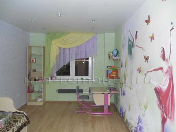 Новый этап в работе над интерьером детской комнаты своими руками