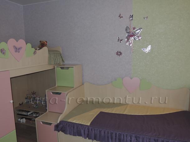 Мой интерьер детской комнаты для двух дочек