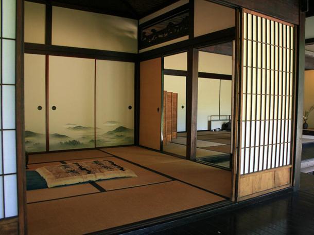 мебель для спальни с японским стилем оформления