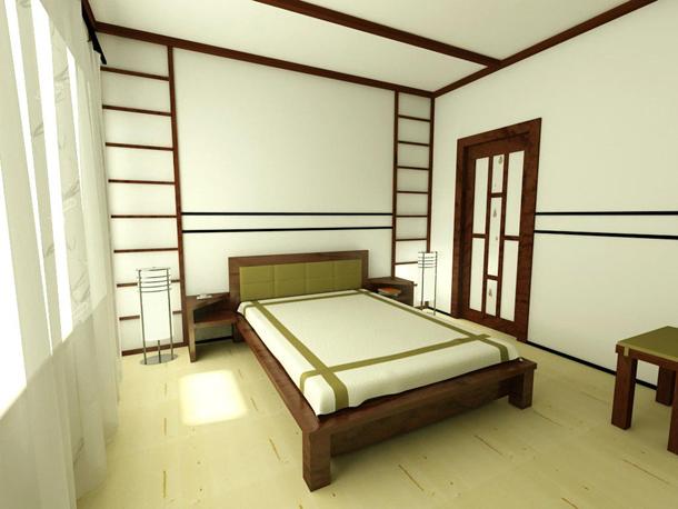 мебель для спальни в японском стиле