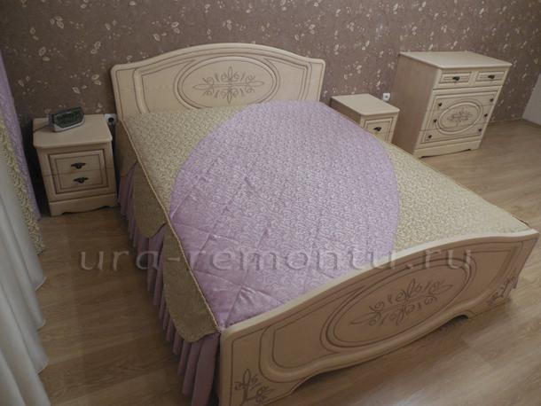 Покрывало на кровати - важное составляющее красивой спальни
