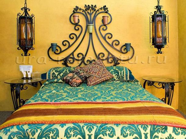 Подбираем аксессуары для спальни в марокканском стиле