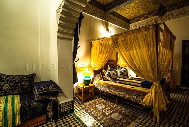 Марокканский стиль спальни