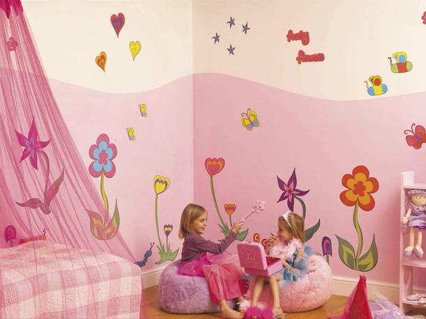 Какие обои выбрать в детскую для маленьких принцесс