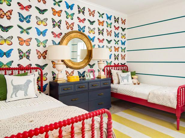 Какие обои выбрать в детскую комнату креативных детей
