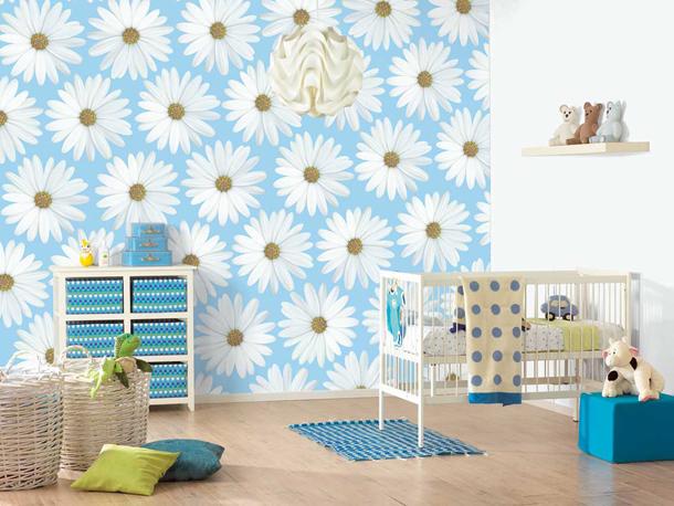 Обои какой расцветки выбирать в детскую комнату младенца