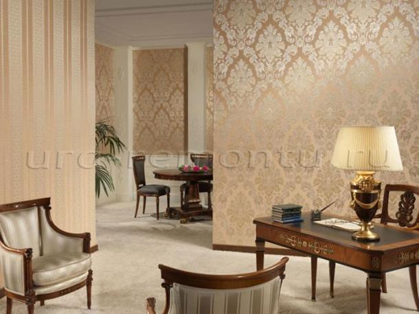 Как подобрать текстуру обоев для гостиной