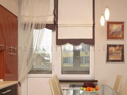 Фотографии из галереи 10036, статья 20 моделей штор на кухню.