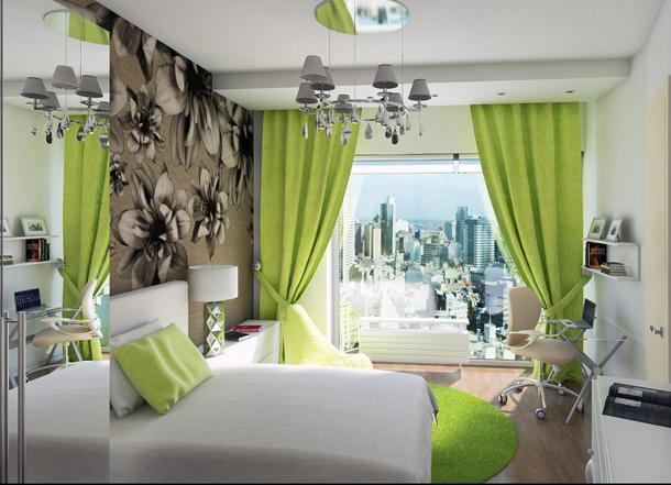 Какие шторы можно подобрать в спальню