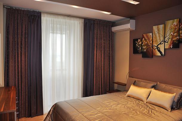 Как правильно подобрать шторы в спальню по фактуре ткани