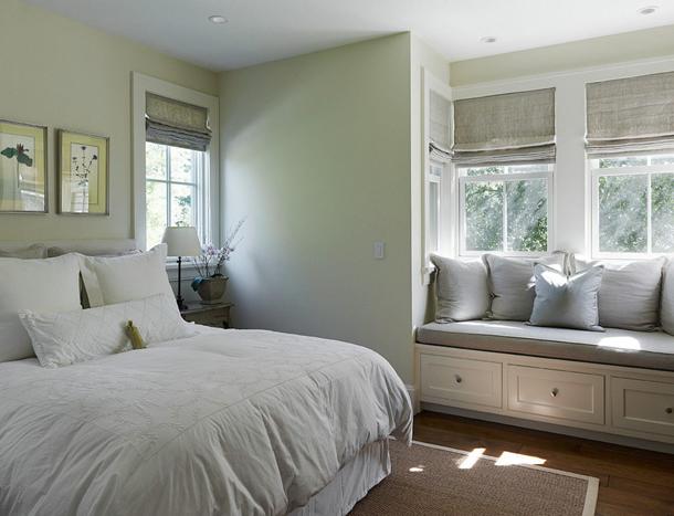 Какие шторы выбрать в спальню в стиле минимализм