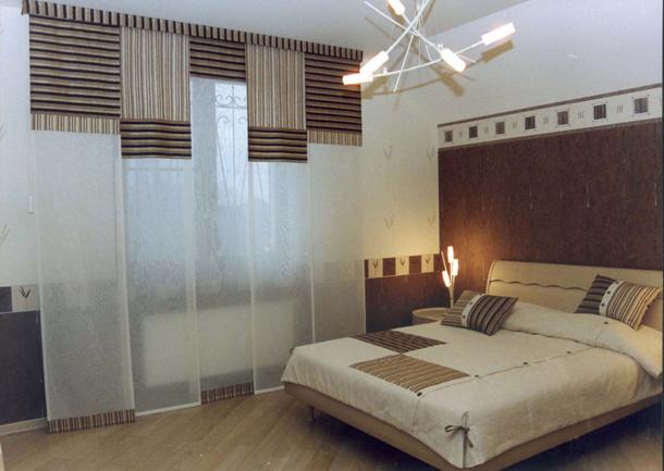 Какие шторы выбрать в спальню в японском стиле