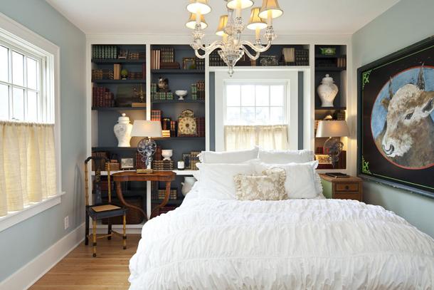 Как подобрать шторы для спальни в стиле прованс
