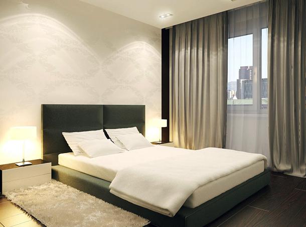 Подбор штор в спальню
