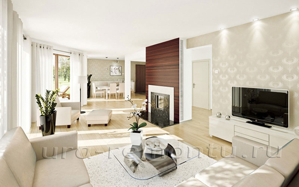 Как оформить интерьер гостиной в светлых тонах