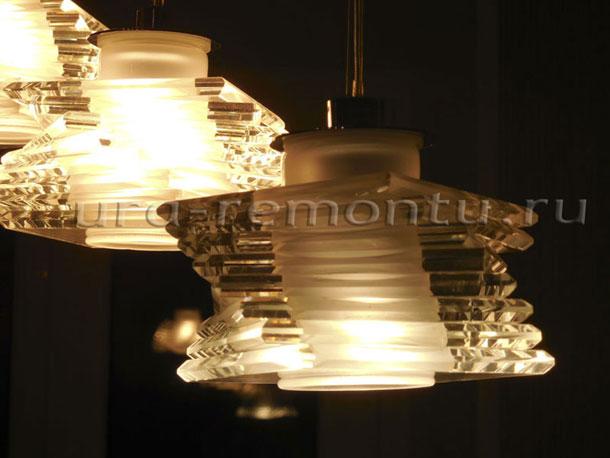 Как меняется освещение плафона при замене галогеновых лампочек на светодиодные с цоколем G4