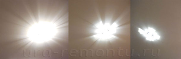 Каков реальный результат от замена галогеновых ламп на светодиодные